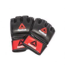 Миниатюра Профессиональные кожаные перчатки Reebok Combat для MMA 0  мини