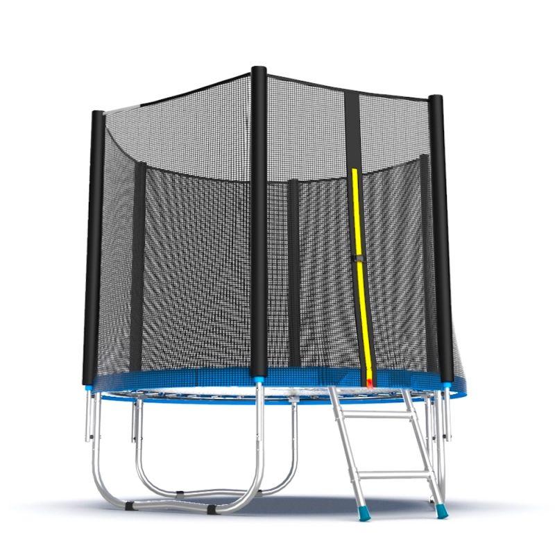 Фотография EVO Jump External 6ft Батут с внешней сеткой и лестницей, диаметр 6ft 3