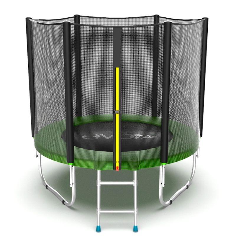 Фотография EVO Jump External 6ft Батут с внешней сеткой и лестницей, диаметр 6ft 0