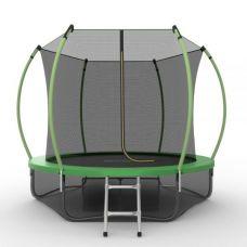 Миниатюра EVO JUMP Internal 8ft + Lower net. Батут с внутренней сеткой и лестницей, диаметр 8ft + нижняя сеть 0  мини