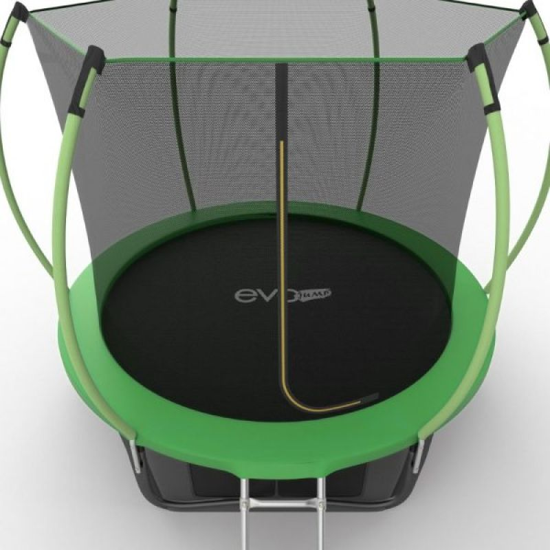 Фотография EVO JUMP Internal 8ft + Lower net. Батут с внутренней сеткой и лестницей, диаметр 8ft + нижняя сеть 10