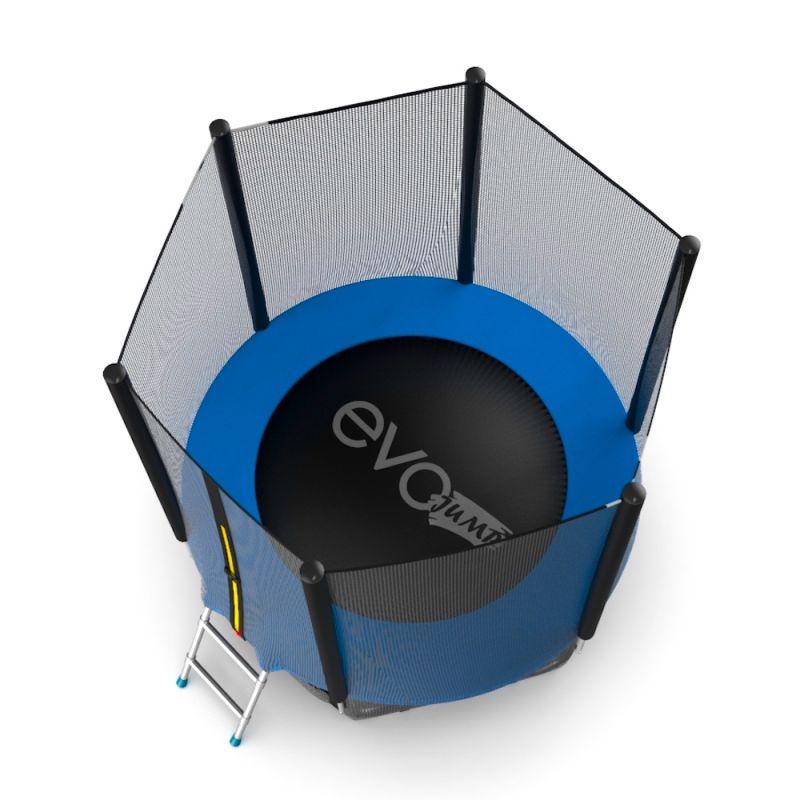 Фотография EVO JUMP External 6ft + Lower net. Батут с внешней сеткой и лестницей, диаметр 6ft + нижняя сеть 6