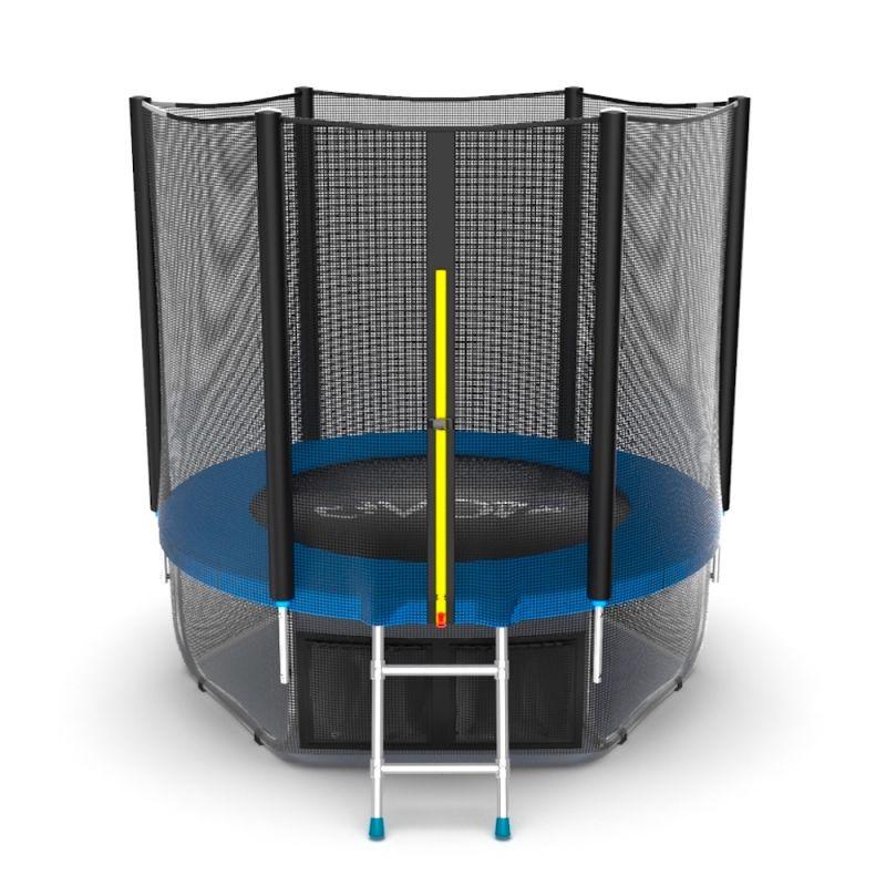 Фотография EVO JUMP External 6ft + Lower net. Батут с внешней сеткой и лестницей, диаметр 6ft + нижняя сеть 2