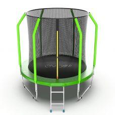Миниатюра EVO Jump Cosmo 6ft Батут с внутренней сеткой и лестницей, диаметр 6ft 0  мини