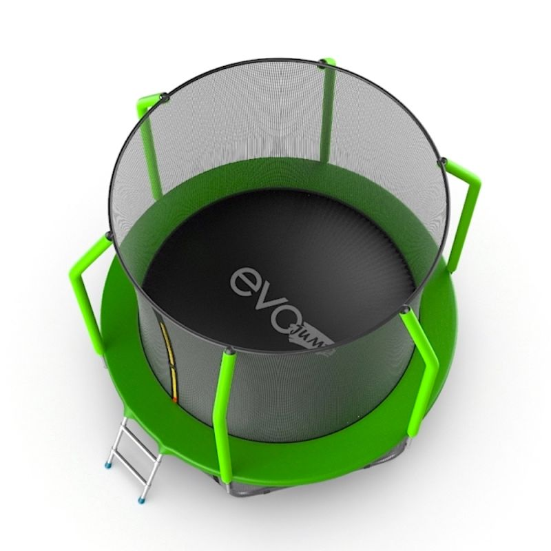 Фотография EVO Jump Cosmo 6ft Батут с внутренней сеткой и лестницей, диаметр 6ft 2