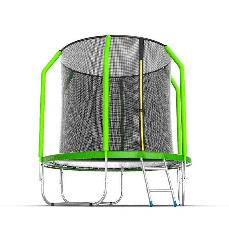 Фотография EVO Jump Cosmo 6ft Батут с внутренней сеткой и лестницей, диаметр 6ft 3