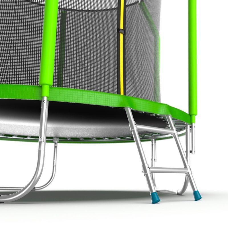 Фотография EVO Jump Cosmo 6ft Батут с внутренней сеткой и лестницей, диаметр 6ft 5
