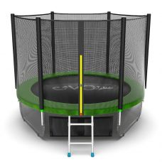 Миниатюра EVO JUMP External 8ft + Lower net. Батут с внешней сеткой и лестницей, диаметр 8ft + нижняя сеть 0  мини