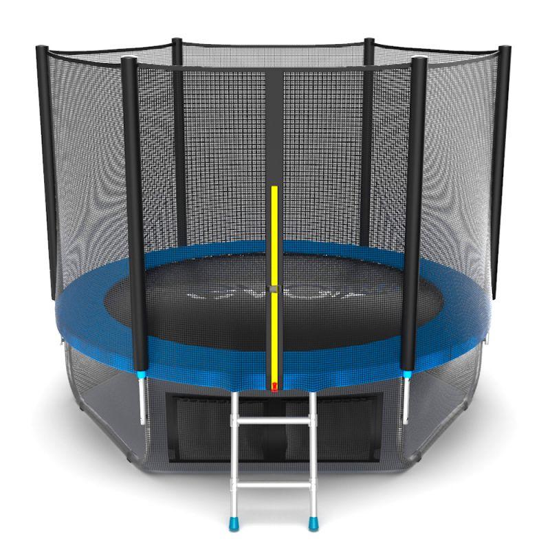 Фотография EVO JUMP External 8ft + Lower net. Батут с внешней сеткой и лестницей, диаметр 8ft + нижняя сеть 2