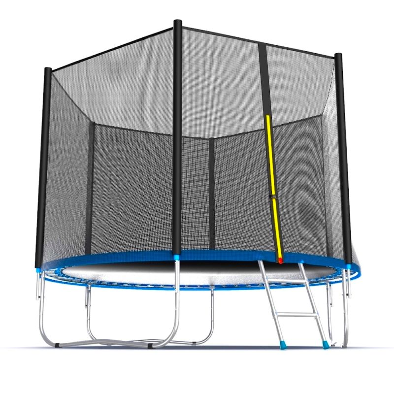 Фотография EVO JUMP External 10ft Батут с внешней сеткой и лестницей, диаметр 10ft 7