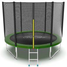 Миниатюра EVO JUMP External 10ft Батут с внешней сеткой и лестницей, диаметр 10ft 0  мини