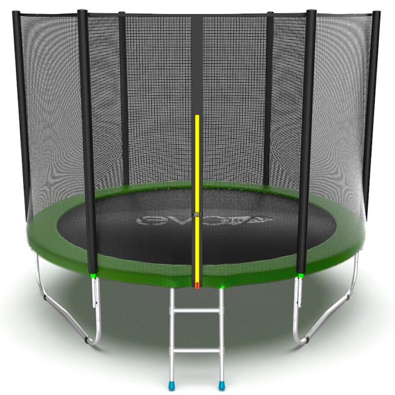 Фотография EVO JUMP External 10ft Батут с внешней сеткой и лестницей, диаметр 10ft 0