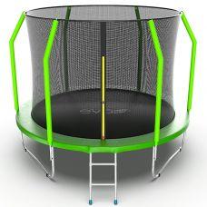 Миниатюра EVO JUMP Cosmo 10ft Батут с внутренней сеткой и лестницей, диаметр 10ft 0  мини