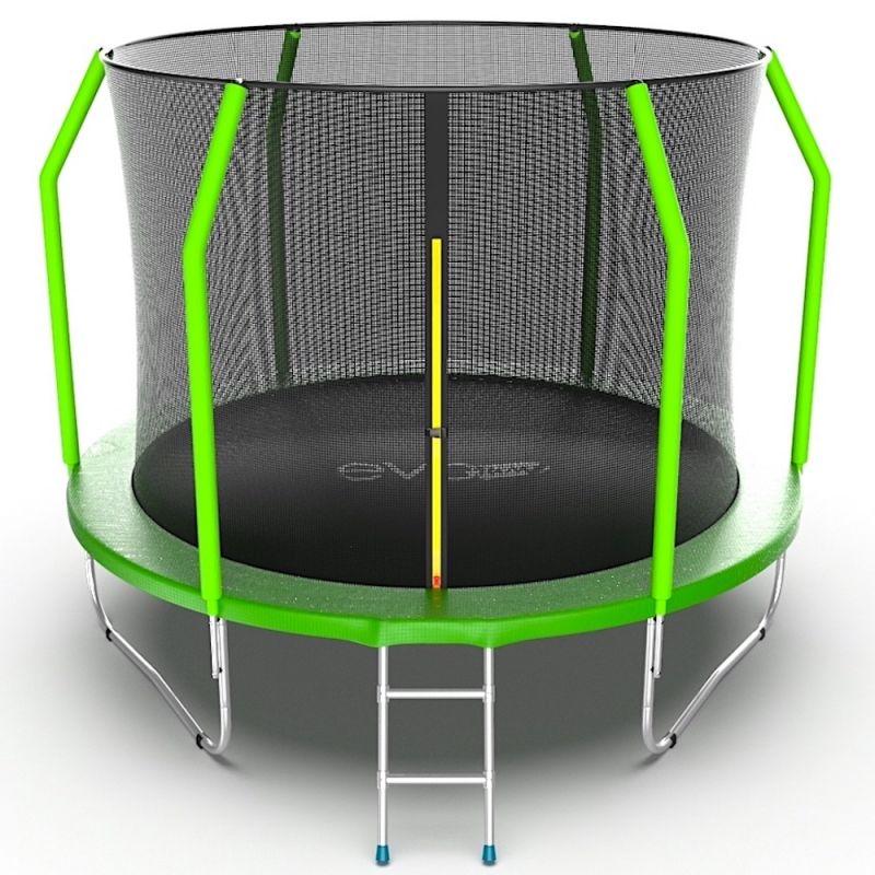 Фотография EVO JUMP Cosmo 10ft Батут с внутренней сеткой и лестницей, диаметр 10ft 0