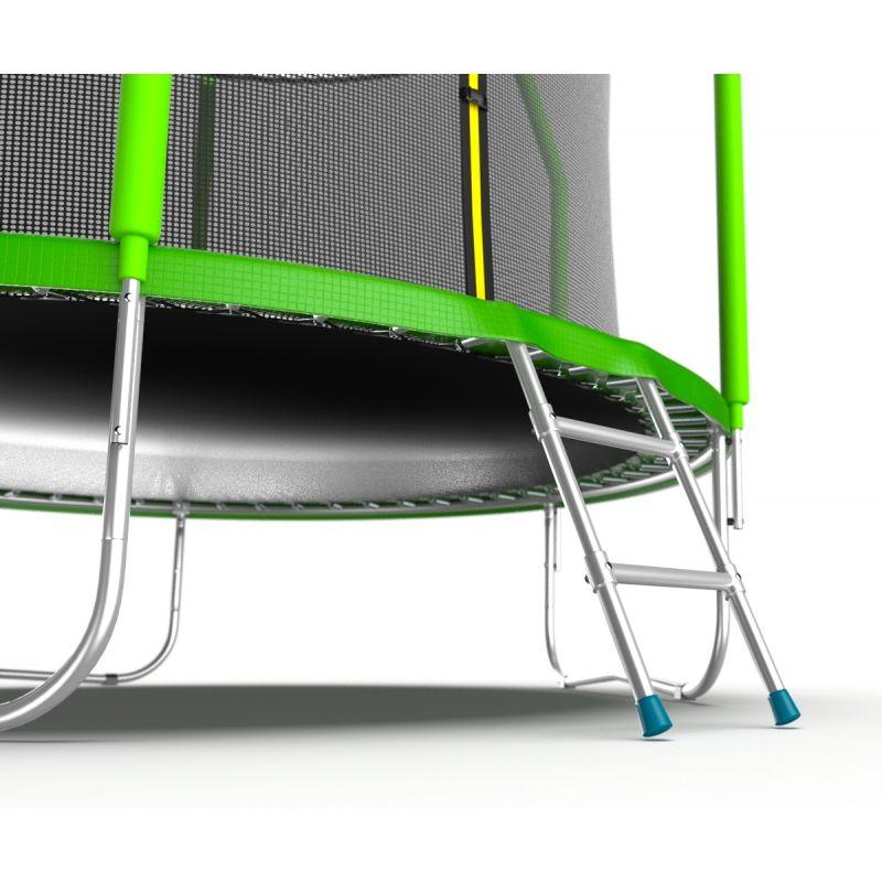 Фотография EVO JUMP Cosmo 10ft Батут с внутренней сеткой и лестницей, диаметр 10ft 6