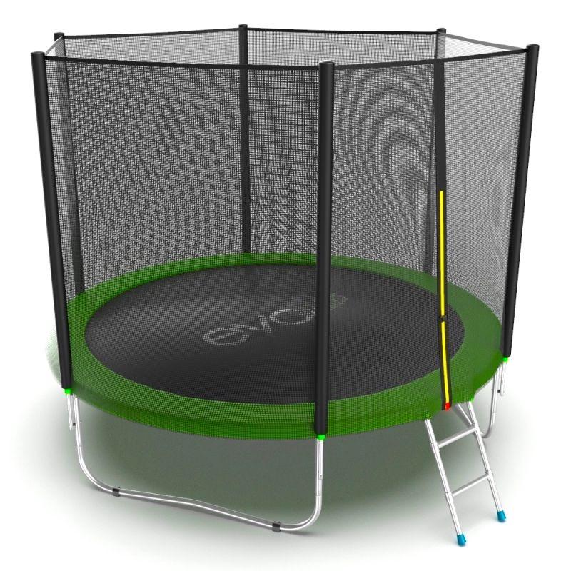 Фотография EVO JUMP External 10ft + Lower net. Батут с внешней сеткой и лестницей, диаметр 10ft + нижняя сеть 3