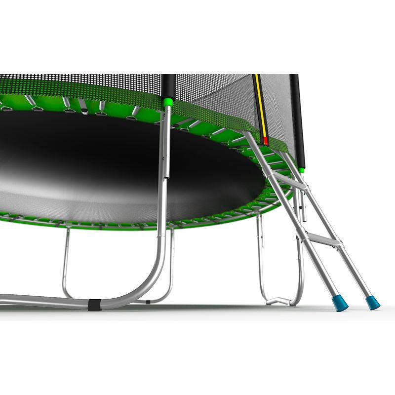 Фотография EVO JUMP External 10ft + Lower net. Батут с внешней сеткой и лестницей, диаметр 10ft + нижняя сеть 12