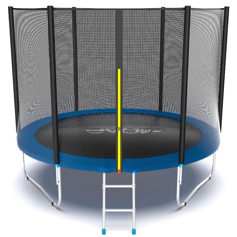 Фотография EVO JUMP External 10ft + Lower net. Батут с внешней сеткой и лестницей, диаметр 10ft + нижняя сеть 0