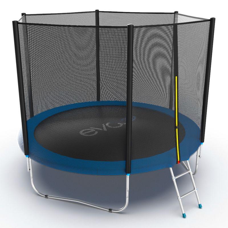 Фотография EVO JUMP External 10ft + Lower net. Батут с внешней сеткой и лестницей, диаметр 10ft + нижняя сеть 4
