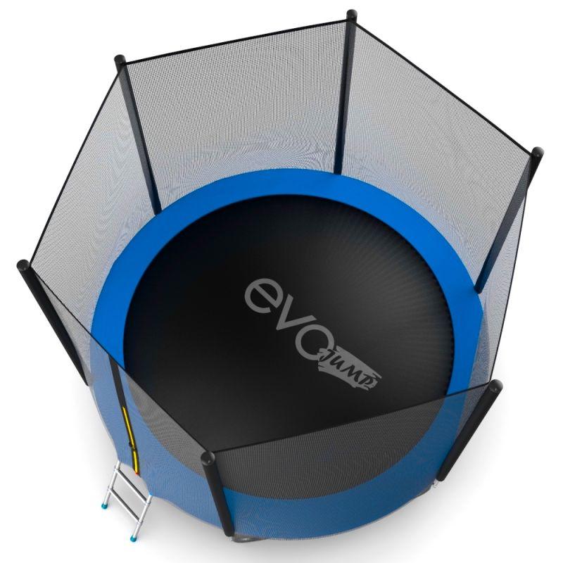 Фотография EVO JUMP External 10ft + Lower net. Батут с внешней сеткой и лестницей, диаметр 10ft + нижняя сеть 8