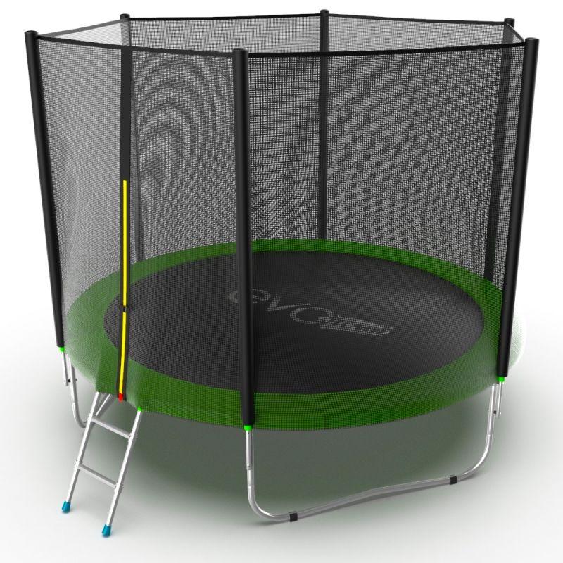 Фотография EVO JUMP External 10ft + Lower net. Батут с внешней сеткой и лестницей, диаметр 10ft + нижняя сеть 5
