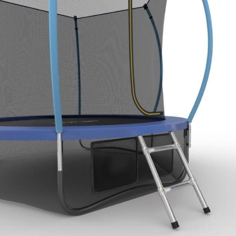 Фотография EVO JUMP Internal 10ft + Lower net. Батут с внутренней сеткой и лестницей, диаметр 10ft + нижняя сеть 7