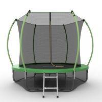 EVO JUMP Internal 10ft + Lower net. Батут с внутренней сеткой и лестницей, диаметр 10ft + нижняя сеть