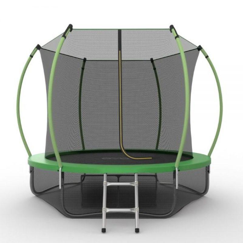 Фотография EVO JUMP Internal 10ft + Lower net. Батут с внутренней сеткой и лестницей, диаметр 10ft + нижняя сеть 0