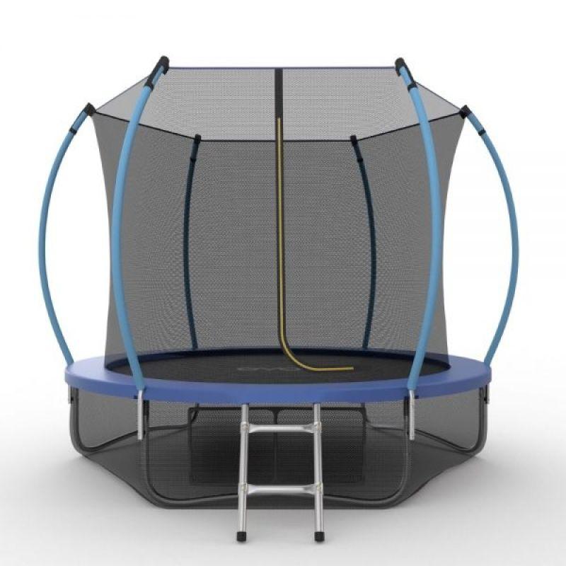 Фотография EVO JUMP Internal 10ft + Lower net. Батут с внутренней сеткой и лестницей, диаметр 10ft + нижняя сеть 2