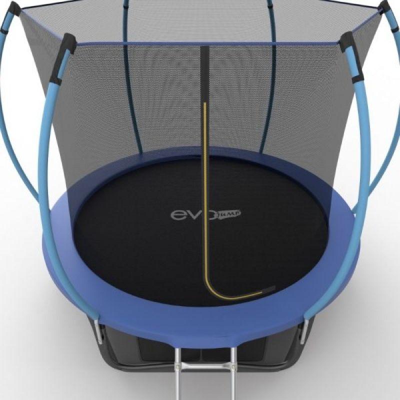 Фотография EVO JUMP Internal 10ft + Lower net. Батут с внутренней сеткой и лестницей, диаметр 10ft + нижняя сеть 10