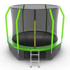 Миниатюра EVO JUMP Cosmo 10ft + Lower net. Батут с внутренней сеткой и лестницей, диаметр 10ft + нижняя сеть 0  мини