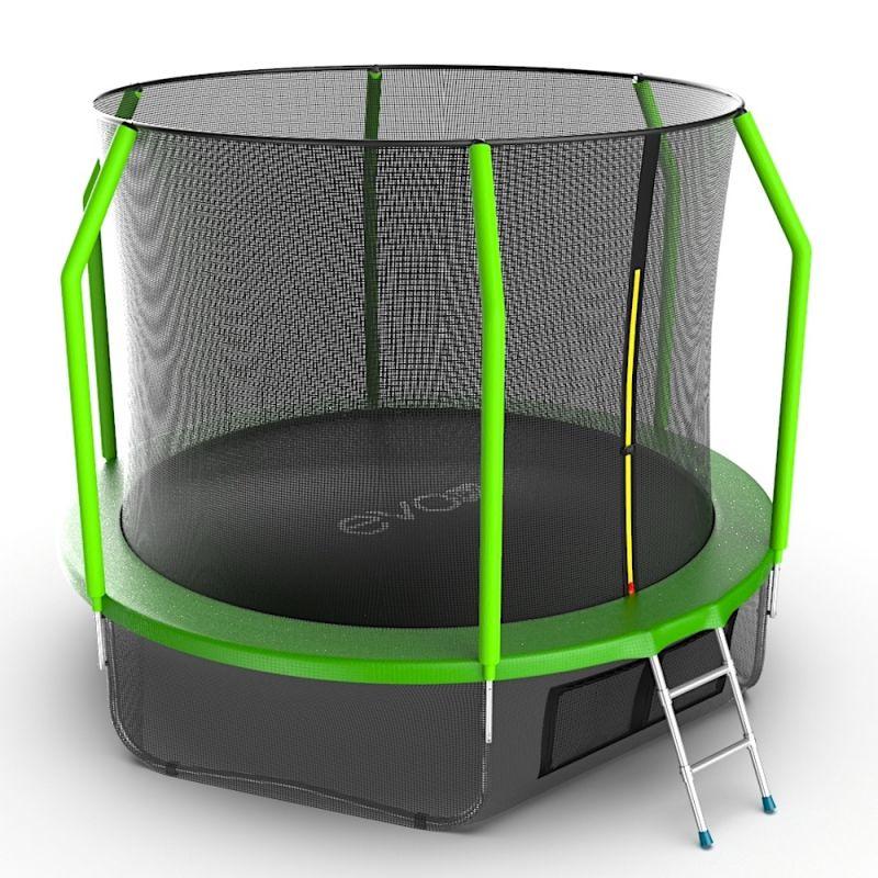 Фотография EVO JUMP Cosmo 10ft + Lower net. Батут с внутренней сеткой и лестницей, диаметр 10ft + нижняя сеть 5