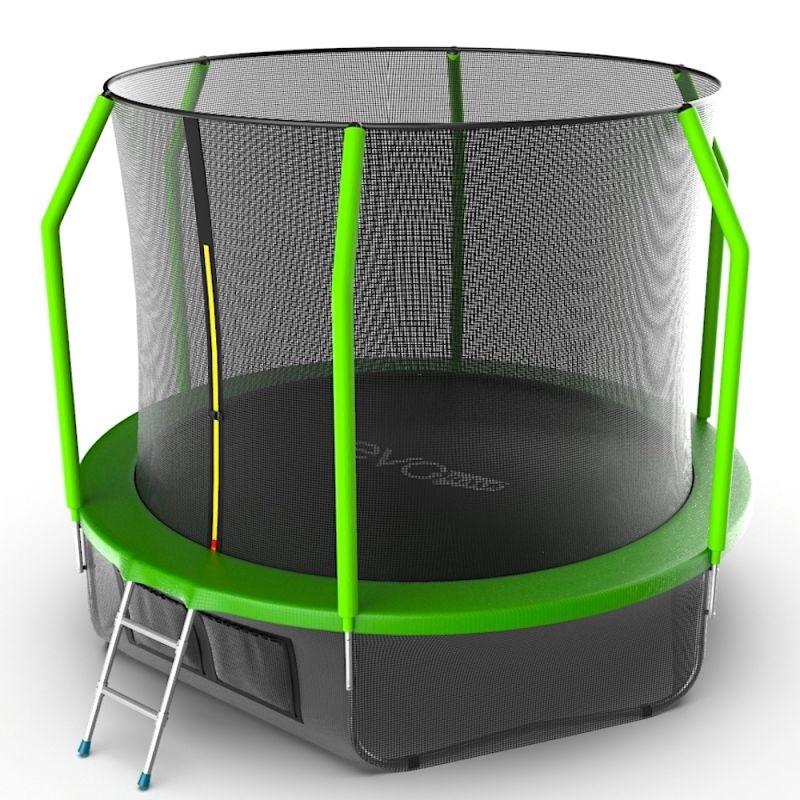 Фотография EVO JUMP Cosmo 10ft + Lower net. Батут с внутренней сеткой и лестницей, диаметр 10ft + нижняя сеть 2