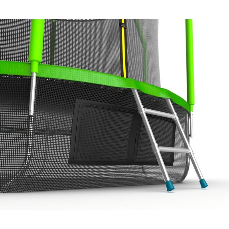 Фотография EVO JUMP Cosmo 10ft + Lower net. Батут с внутренней сеткой и лестницей, диаметр 10ft + нижняя сеть 6