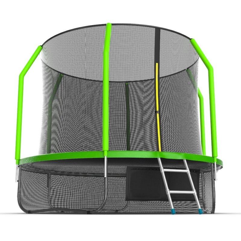 Фотография EVO JUMP Cosmo 10ft + Lower net. Батут с внутренней сеткой и лестницей, диаметр 10ft + нижняя сеть 3
