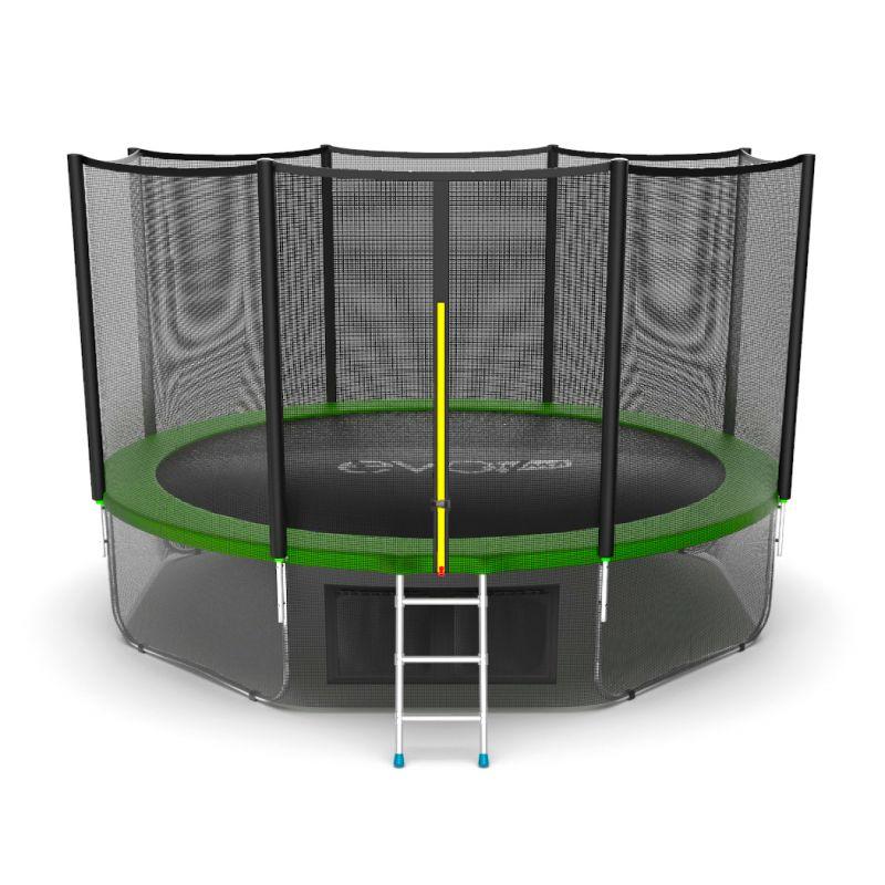 Фотография EVO JUMP External 12ft + Lower net. Батут с внешней сеткой и лестницей, диаметр 12ft + нижняя сеть 0