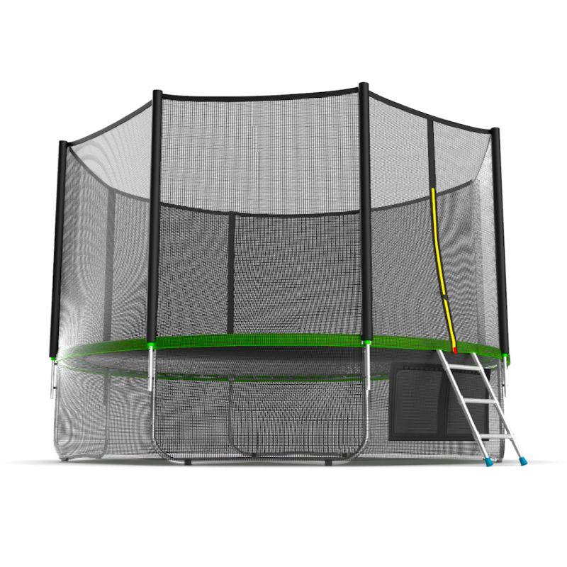 Фотография EVO JUMP External 12ft + Lower net. Батут с внешней сеткой и лестницей, диаметр 12ft + нижняя сеть 3