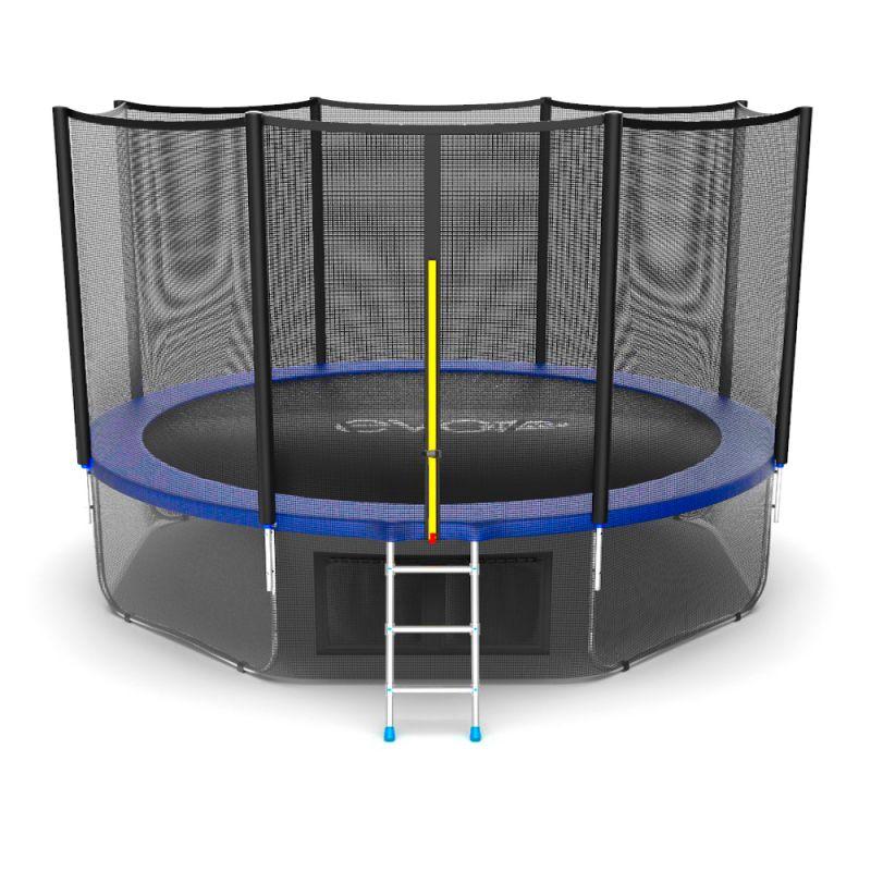 Фотография EVO JUMP External 12ft + Lower net. Батут с внешней сеткой и лестницей, диаметр 12ft + нижняя сеть 2