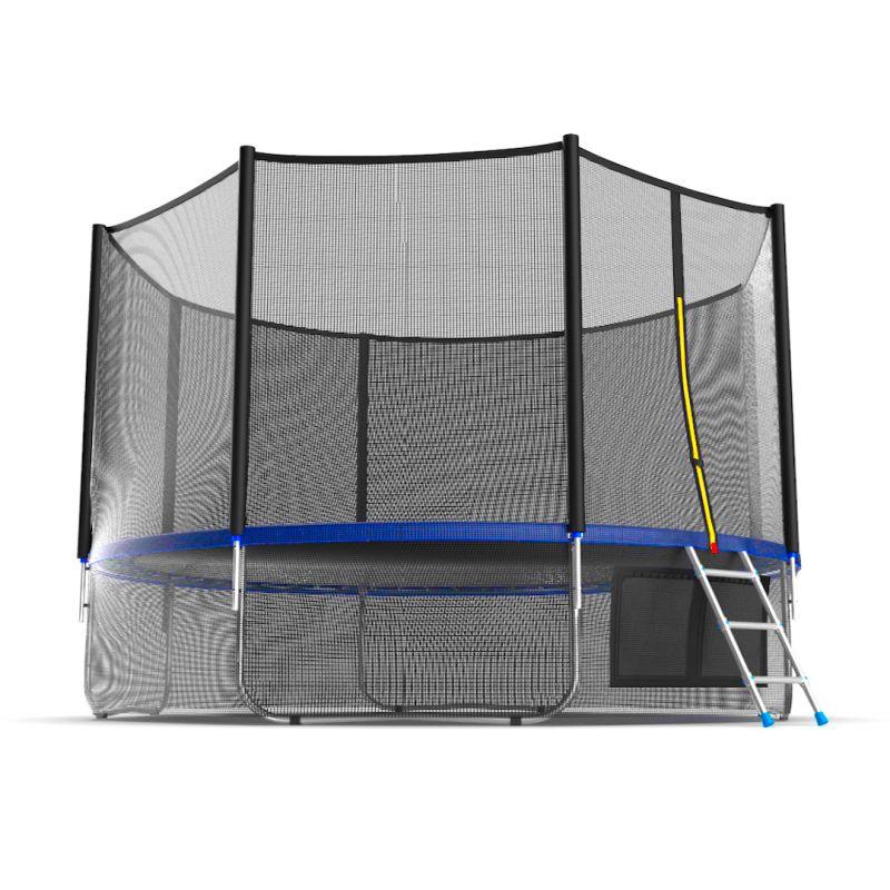 Фотография EVO JUMP External 12ft + Lower net. Батут с внешней сеткой и лестницей, диаметр 12ft + нижняя сеть 4
