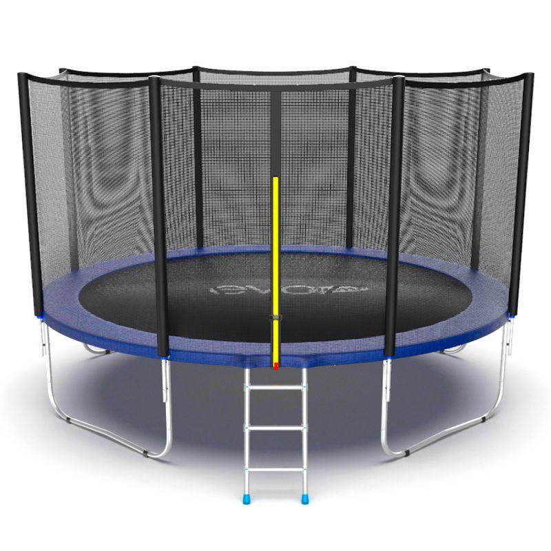 Фотография EVO JUMP External 12ft Батут с внешней сеткой и лестницей, диаметр 12ft 2