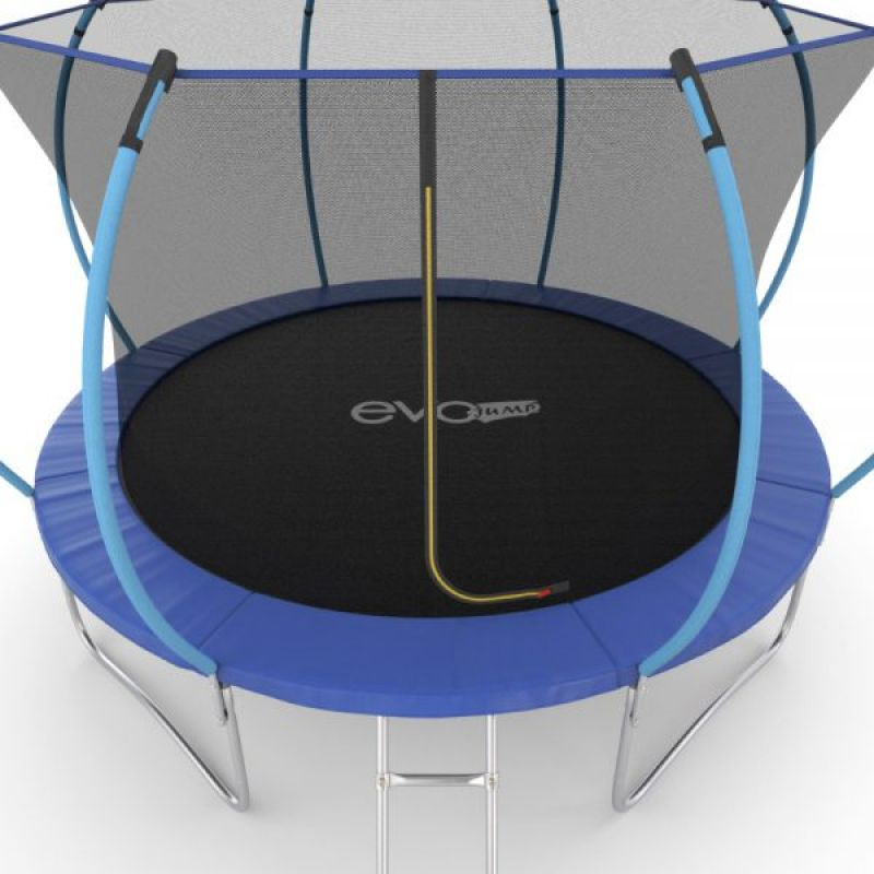 Фотография EVO JUMP Internal 12ft Батут с внутренней сеткой и лестницей, диаметр 12ft 10