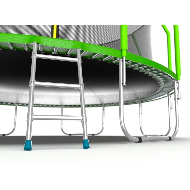 Фотография EVO JUMP Cosmo 16ft Батут с внутренней сеткой и лестницей, диаметр 16ft 6