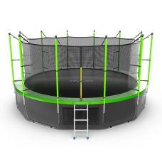 Миниатюра EVO JUMP Internal 16ft + Lower net. Батут с внутренней сеткой и лестницей, диаметр 16ft + нижняя сеть 0  мини