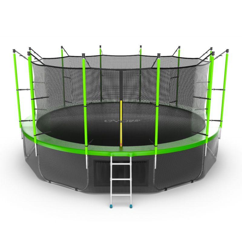Фотография EVO JUMP Internal 16ft + Lower net. Батут с внутренней сеткой и лестницей, диаметр 16ft + нижняя сеть 0