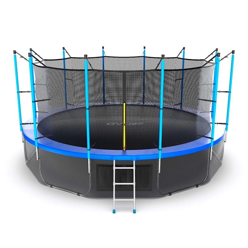 Фотография EVO JUMP Internal 16ft + Lower net. Батут с внутренней сеткой и лестницей, диаметр 16ft + нижняя сеть 2