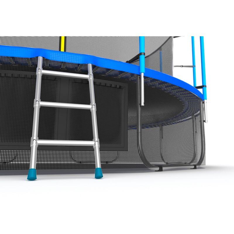 Фотография EVO JUMP Internal 16ft + Lower net. Батут с внутренней сеткой и лестницей, диаметр 16ft + нижняя сеть 8