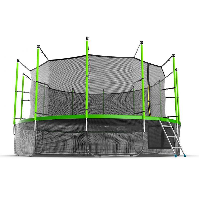 Фотография EVO JUMP Internal 16ft + Lower net. Батут с внутренней сеткой и лестницей, диаметр 16ft + нижняя сеть 3
