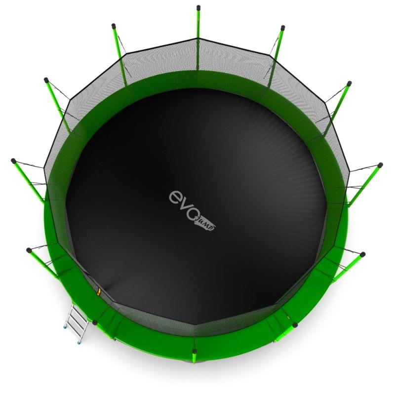 Фотография EVO JUMP Internal 16ft + Lower net. Батут с внутренней сеткой и лестницей, диаметр 16ft + нижняя сеть 5