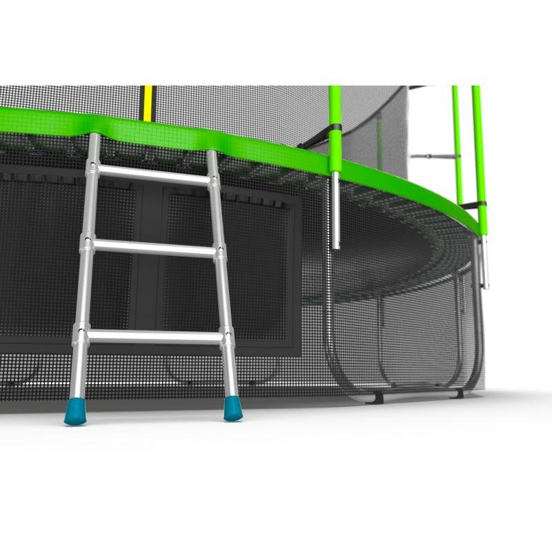 Фотография EVO JUMP Internal 16ft + Lower net. Батут с внутренней сеткой и лестницей, диаметр 16ft + нижняя сеть 7