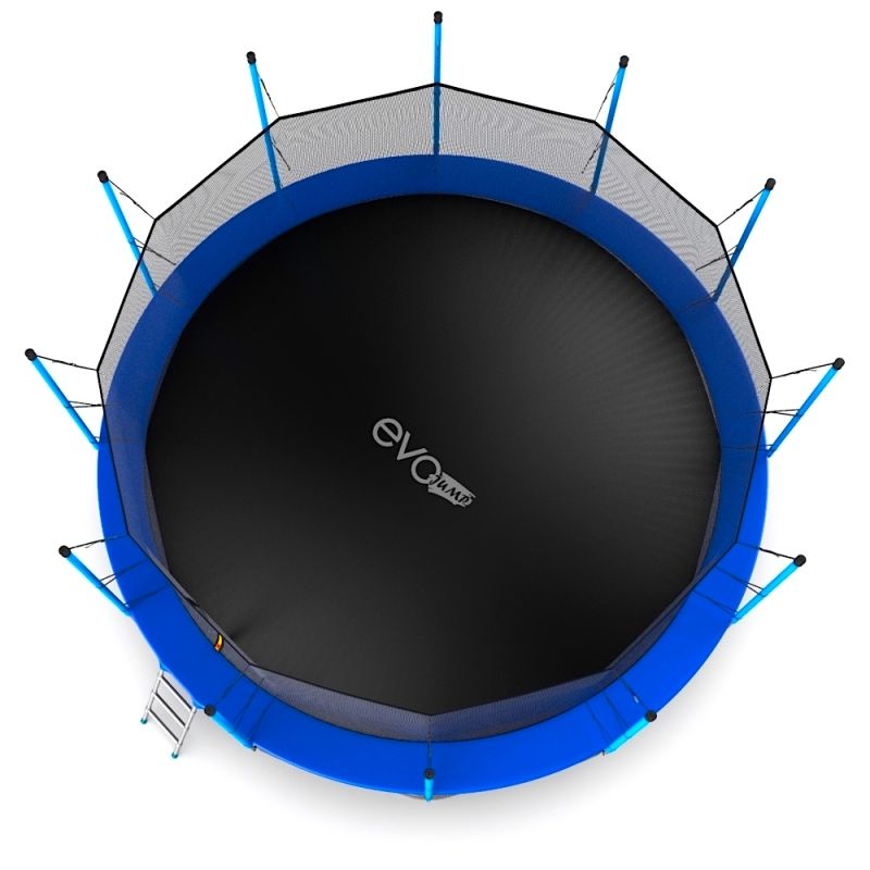 Фотография EVO JUMP Internal 16ft + Lower net. Батут с внутренней сеткой и лестницей, диаметр 16ft + нижняя сеть 6